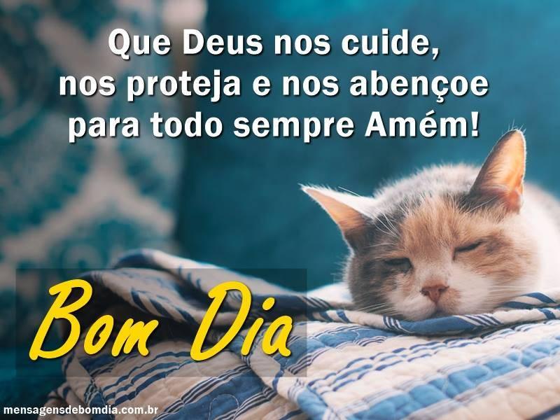 Deus cuide de nós