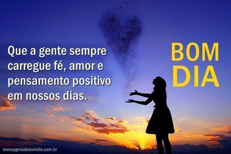 Mensagem de Otimismo e bom dia