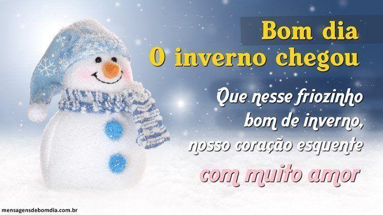 Bem vindo Inverno