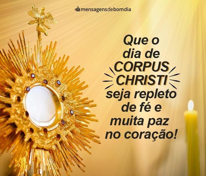 Mensagem de Corpus Christi