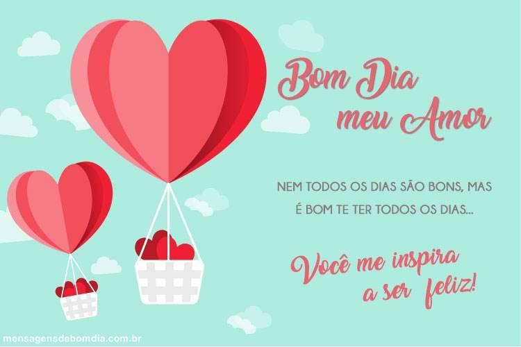 Bom Dia Meu Amor Mensagens De Bom Dia