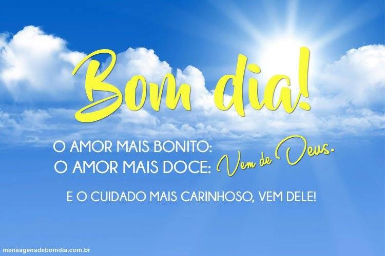Bom Dia com Amor de Deus