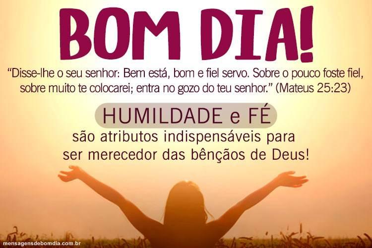 Mensagem Bíblica De Bom Dia Mensagens De Bom Dia