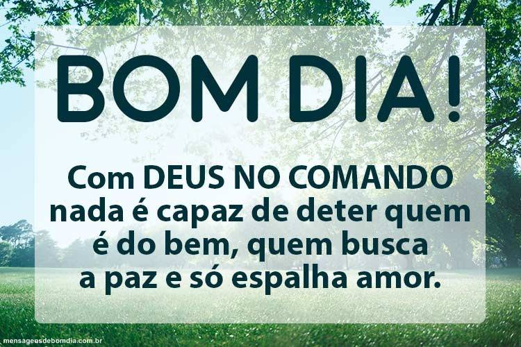 Bom Dia com Deus no Comando