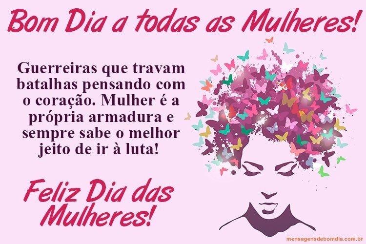 Mensagem para Dia da Mulher
