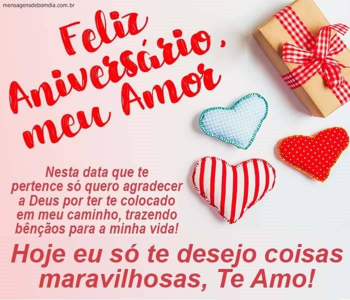 Bom Dia Feliz Aniversário Meu Amor Mensagens De Bom Dia