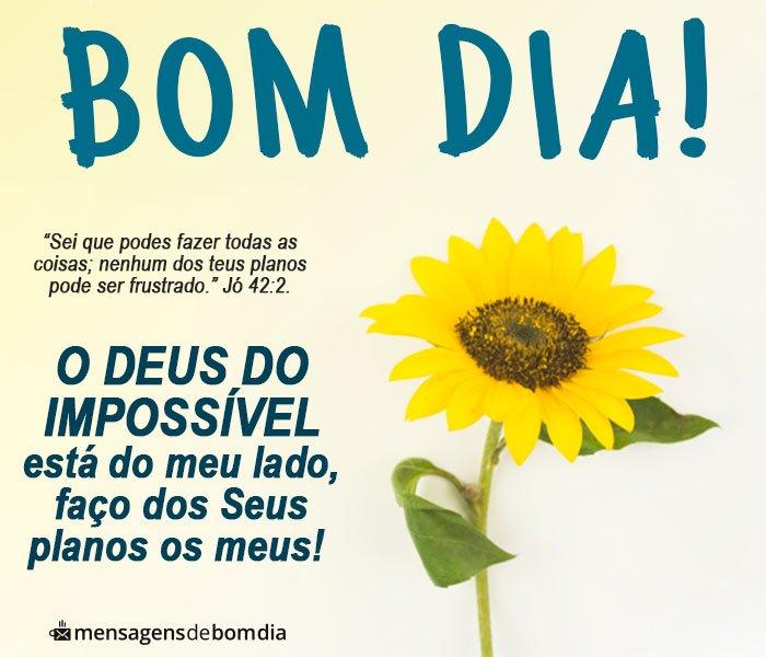 Bom Dia com o Deus do Impossível