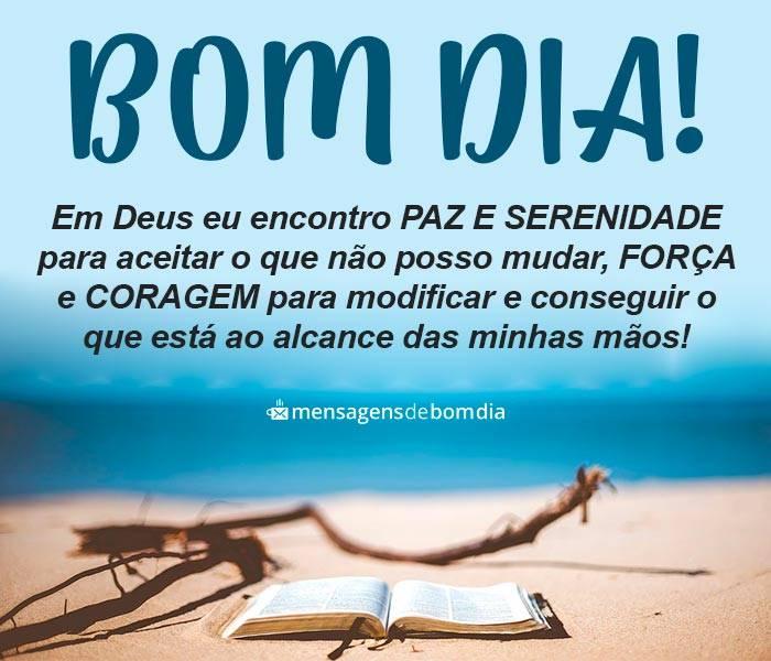 Bom Dia, Deus é minha Paz
