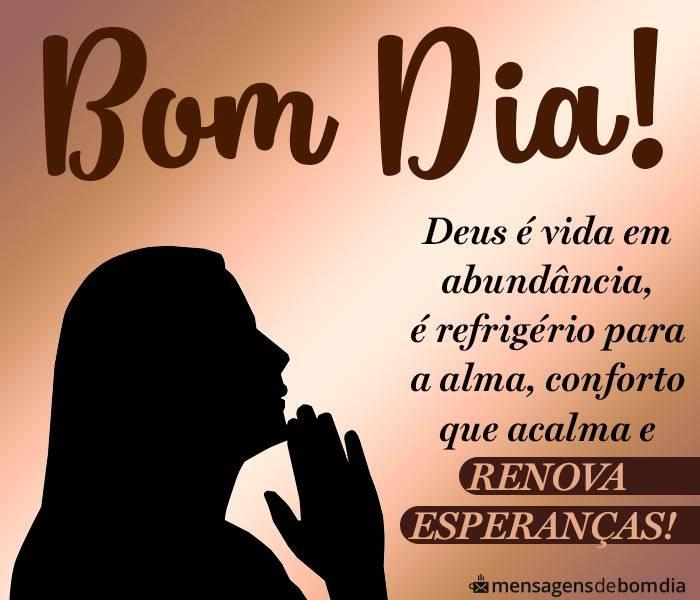 Bom Dia, Deus é Vida em Abundância