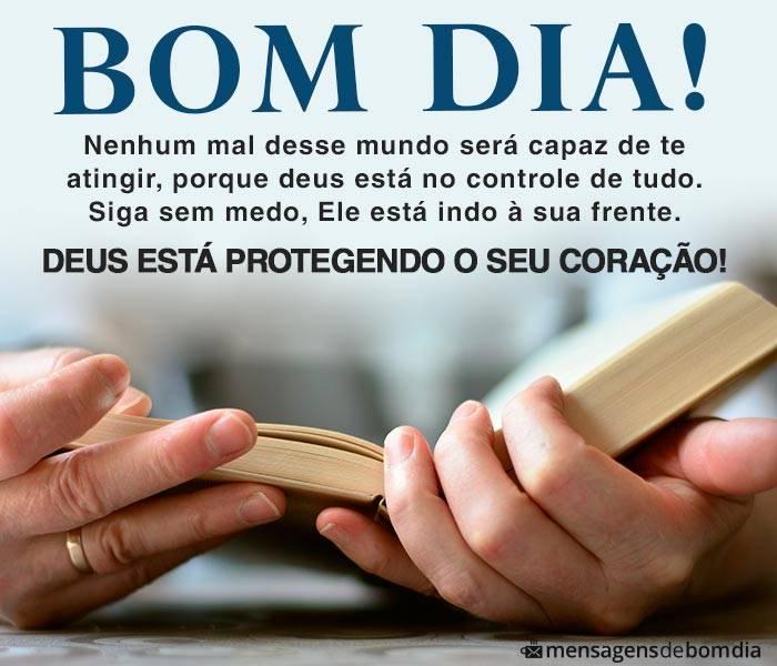 Bom Dia, Deus Protege seu Coração
