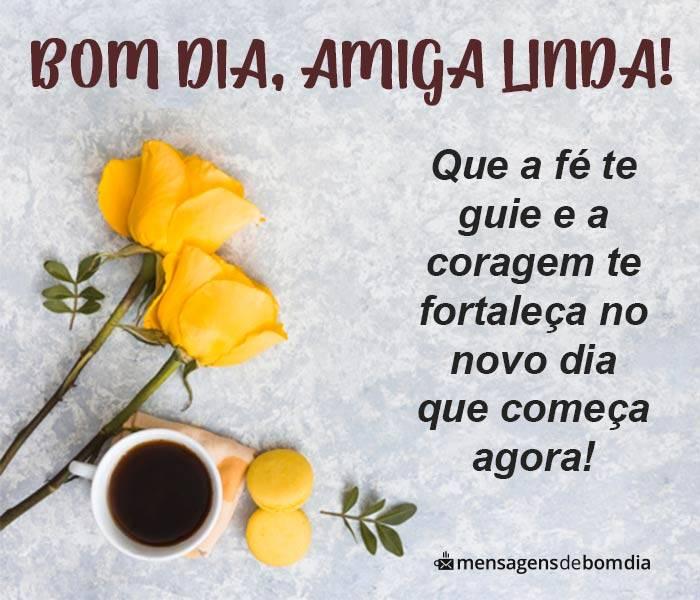 Bom Dia Amiga Linda