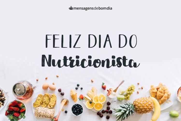 Mensagens para Dia do Nutricionista (31/08)
