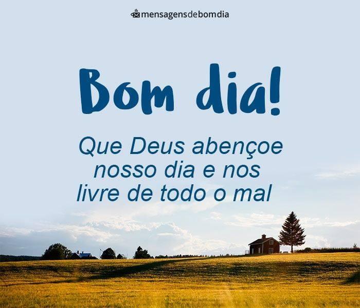 Bom Dia Abençoado de Deus – Mensagens de Bom Dia