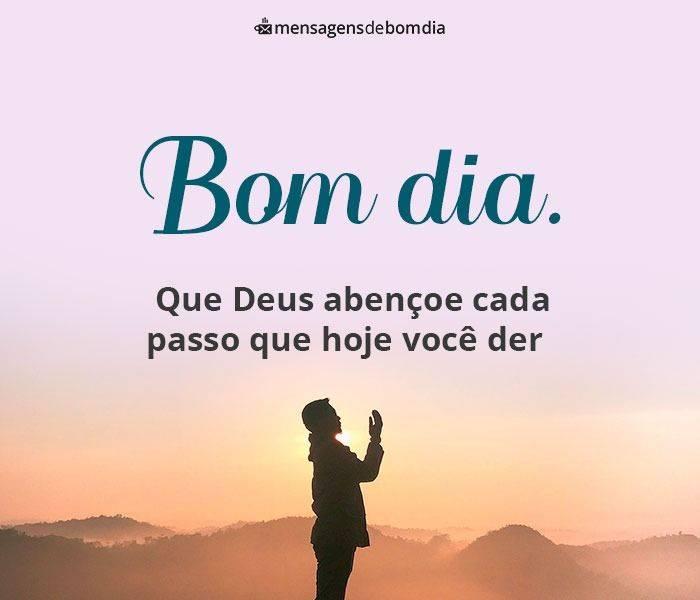 Bom Dia Abençoado Por Deus E Com Muita Fé