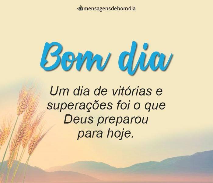 Bom Dia Com Deus E Muita Motivação