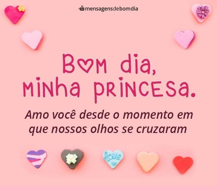 Bom Dia, Minha Princesa. Você É Tudo Para Mim