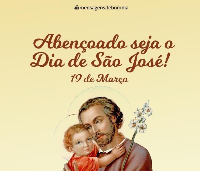 Mensagem para Dia de São José
