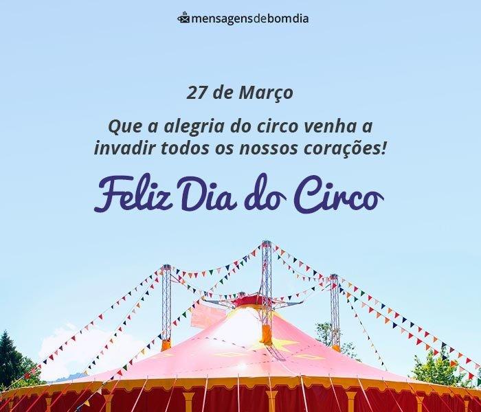 Dia do Circo, 27 de Março