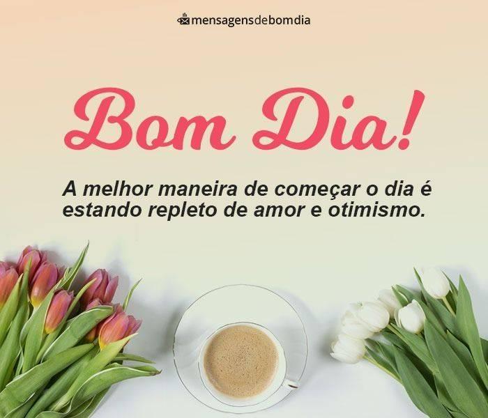 Bom Dia com Café e Flores!