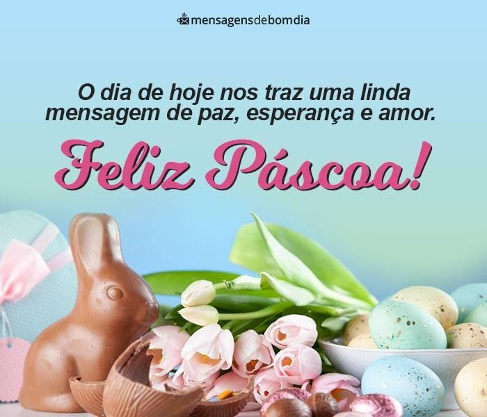 Bom dia de Páscoa: Mensagem de Feliz Páscoa