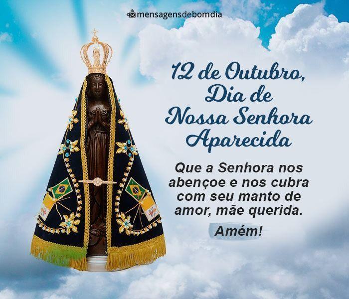 Dia da Nossa Senhora de Aparecida - Mensagens Abençoadas para Comemorar