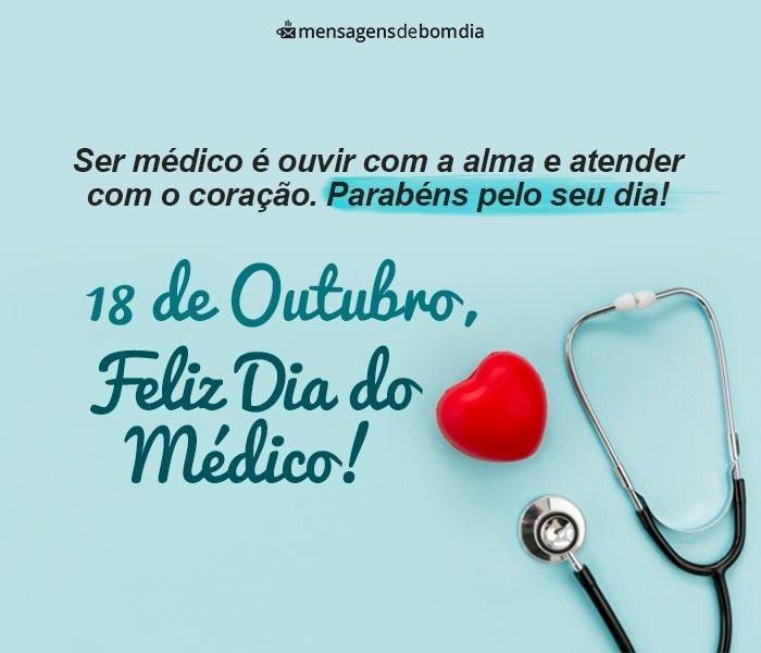Feliz Dia do Médico - Mensagens para Homenagear Todos que Conhece