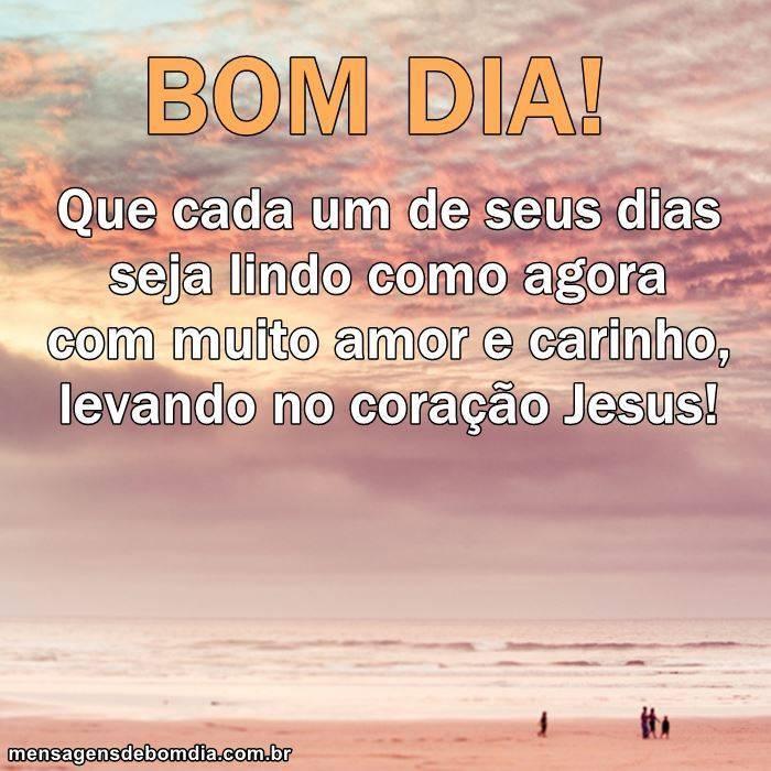 Leve Jesus no Seu Coração