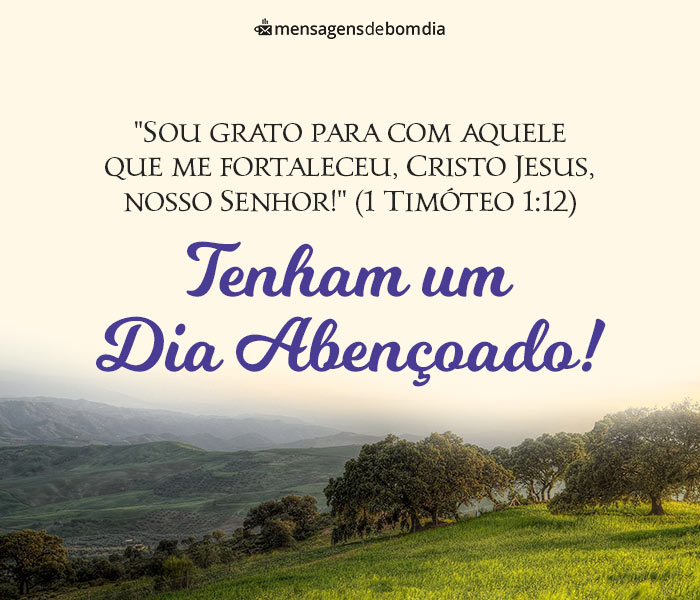 Gratidão a Cristo, Nosso Senhor