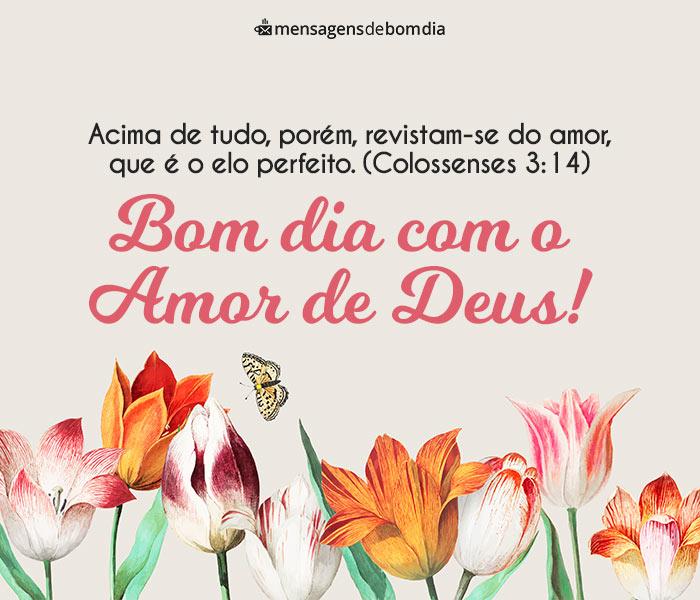 Bom Dia com o Amor de Deus