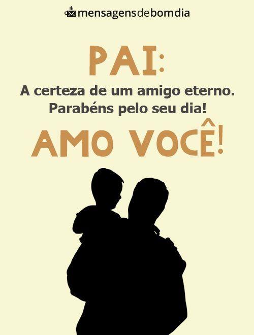 Pai: amo você!