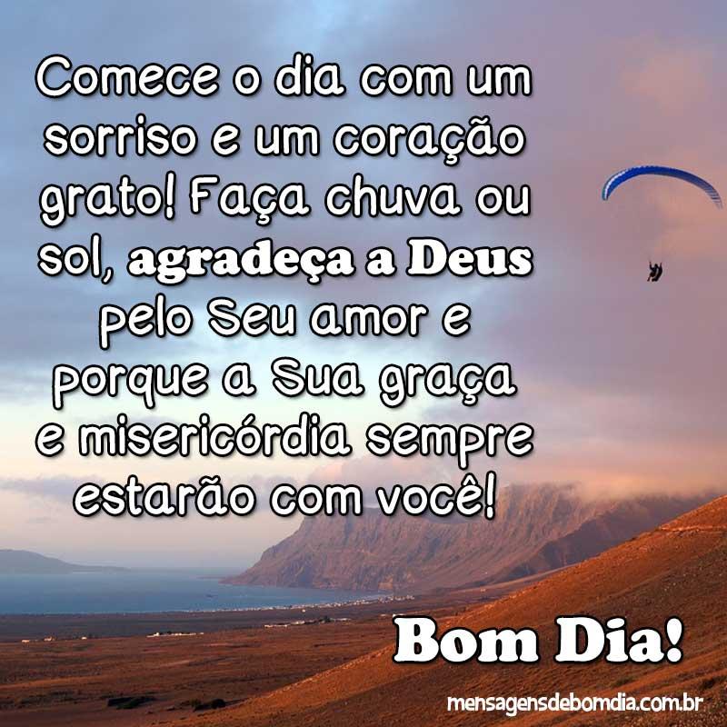 Agradeça o Amor de Deus!