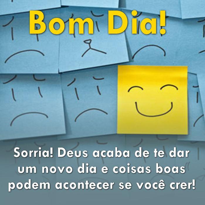 Sorria para Deus!